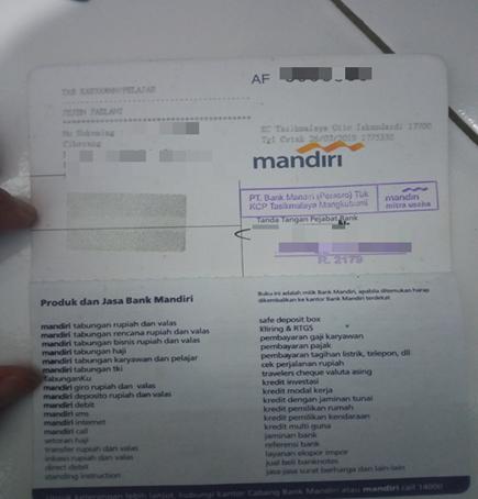 Ketentuan Upload Data Rekening Bank Lazada Seller Center